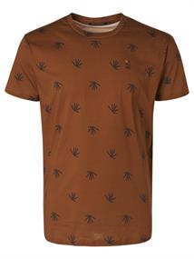No Excess t-shirts 11360301 in het Camel