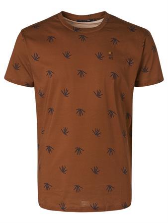 No Excess t-shirts 11360301 in het Camel