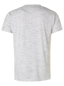 No Excess t-shirts 95350320 in het Wit