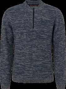 No Excess truien Slim Fit 92230909 in het Blauw
