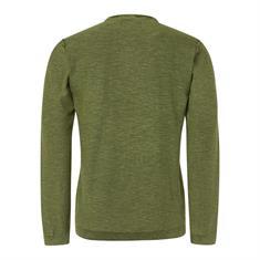 No Excess truien Slim Fit 94231109 in het Groen
