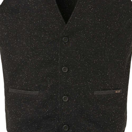 No Excess vesten Slim Fit 94641107 in het Zwart