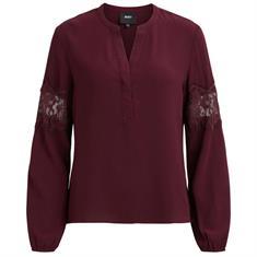 Object blouse 23025799 in het Bordeaux