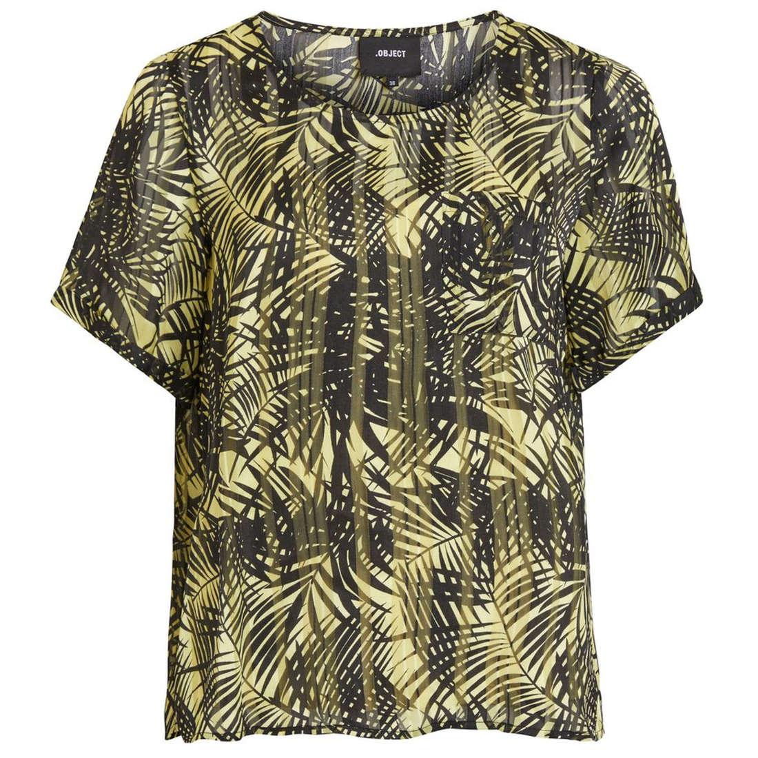 Object blouse 23028815 in het Geel