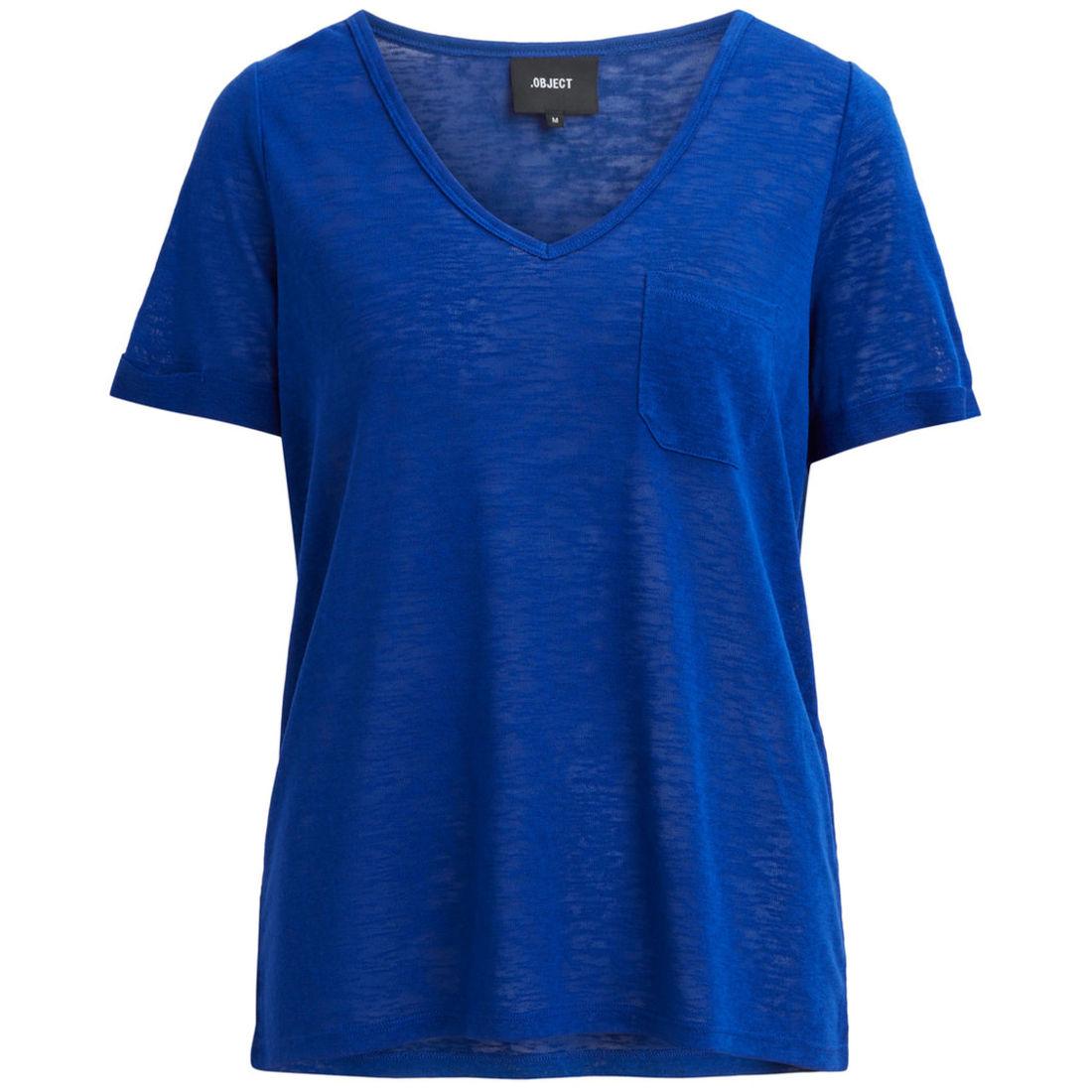 Object t-shirt 23026968 in het Kobalt