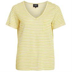 Object t-shirts 23026968 in het Wit/Geel