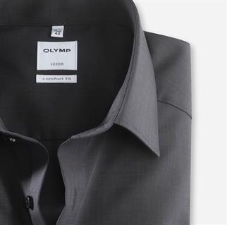 OLYMP business overhemd 025564 in het Zwart