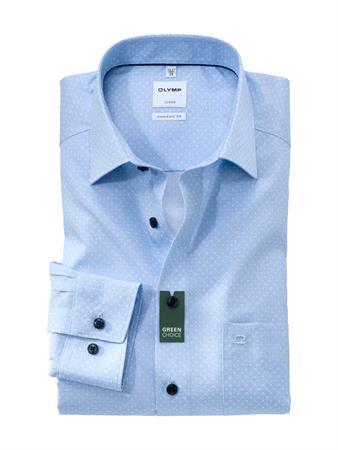 OLYMP business overhemd 108884 in het Blauw