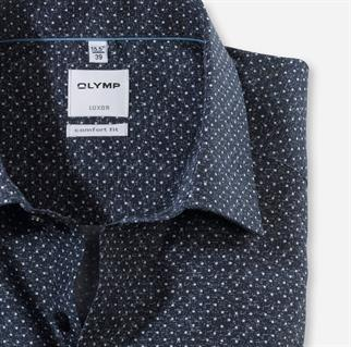 OLYMP business overhemd 108884 in het Marine