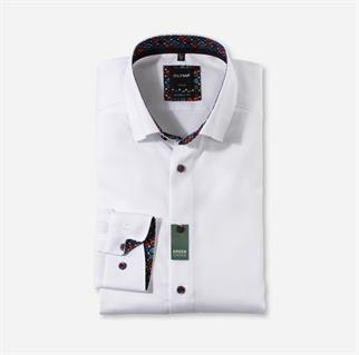 OLYMP business overhemd 132684 in het Wit