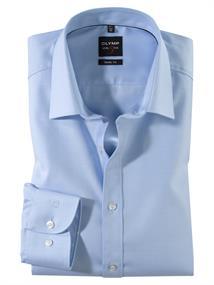 OLYMP business overhemd Body fit 076364 in het Blauw
