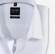 OLYMP business overhemd Body fit 076364 in het Wit