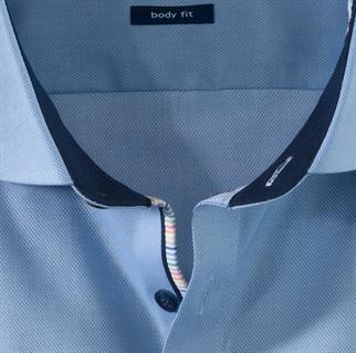 OLYMP business overhemd Body fit 200154 in het Blauw