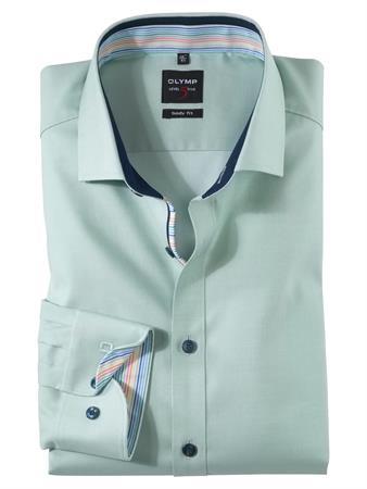OLYMP business overhemd Body fit 200154 in het Groen