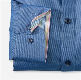 OLYMP business overhemd Body fit 200154 in het Kobalt
