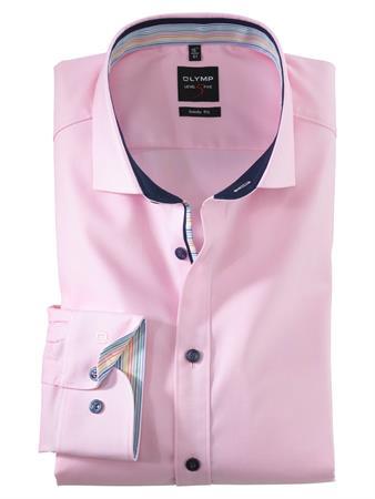 OLYMP business overhemd Body fit 200154 in het Roze