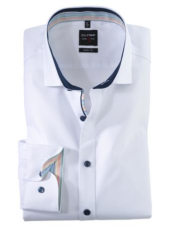 OLYMP business overhemd Body fit 200154 in het Wit