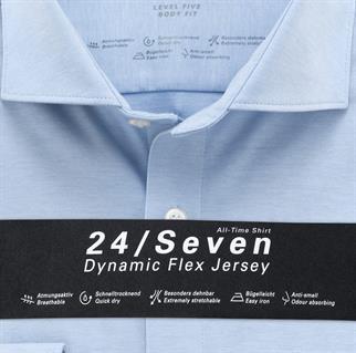 OLYMP business overhemd Body fit 200684 in het Blauw