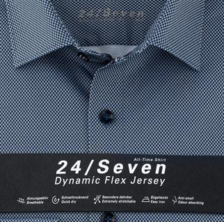 OLYMP business overhemd Body fit 201474 in het Marine