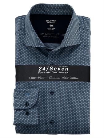 OLYMP business overhemd Body fit 201684 in het Blauw