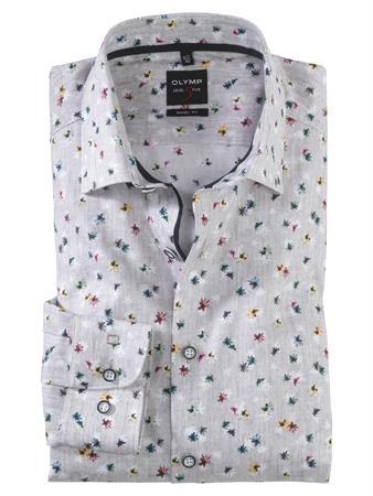 OLYMP business overhemd Body fit 201974 in het Bruin