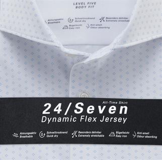 OLYMP business overhemd Body fit 202084 in het Wit