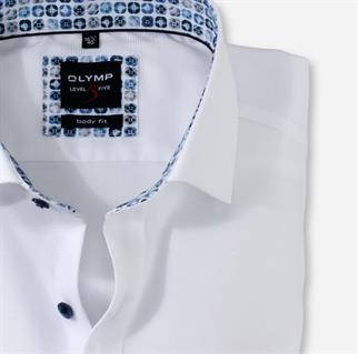 OLYMP business overhemd Body fit 207474 in het Wit