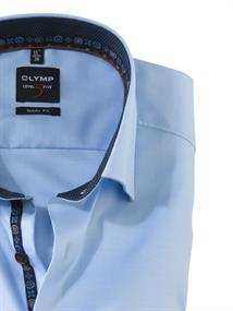 OLYMP business overhemd Body fit 214264 in het Licht Blauw
