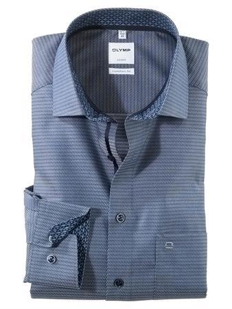 OLYMP business overhemd Comfort Fit 101564 in het Marine