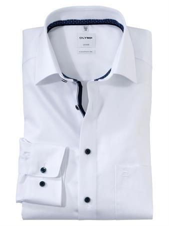 OLYMP business overhemd Comfort Fit 106274 in het Wit
