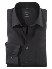 OLYMP business overhemd Modern Fit 030064 in het Zwart