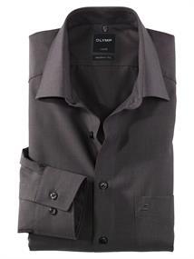 OLYMP business overhemd Modern Fit 030464 in het Antraciet