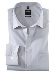 OLYMP business overhemd Modern Fit 030464 in het Licht Grijs