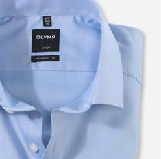 OLYMP business overhemd Modern Fit 074564 in het Blauw