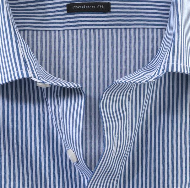 OLYMP business overhemd Modern Fit 074664 in het Marine