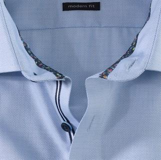 OLYMP business overhemd Modern Fit 120554 in het Blauw