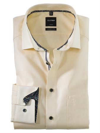 OLYMP business overhemd Modern Fit 120554 in het Geel