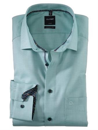 OLYMP business overhemd Modern Fit 120554 in het Groen