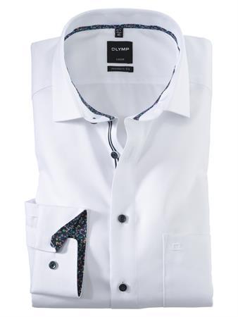OLYMP business overhemd Modern Fit 120554 in het Wit