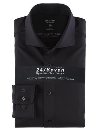 OLYMP business overhemd Modern Fit 121084 in het Marine