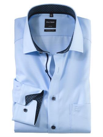 OLYMP business overhemd Modern Fit 121564 in het Blauw
