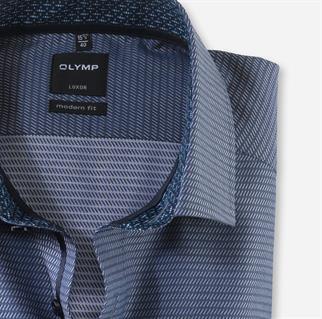 OLYMP business overhemd Modern Fit 121564 in het Marine