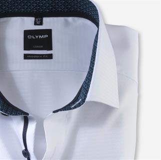 OLYMP business overhemd Modern Fit 121564 in het Wit