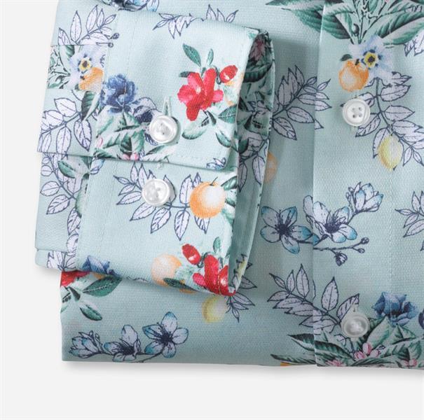 OLYMP business overhemd Modern Fit 121754 in het Groen