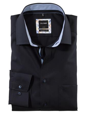 OLYMP business overhemd Modern Fit 122174 in het Kobalt