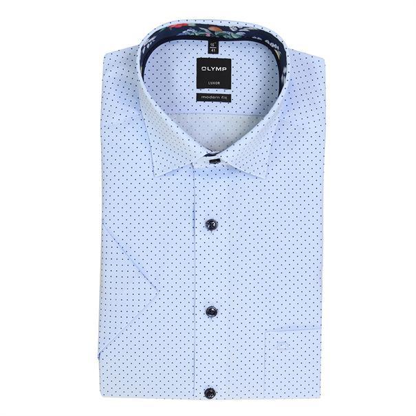 OLYMP business overhemd Modern Fit 123552 in het Blauw