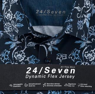 OLYMP business overhemd Modern Fit 124674 in het Blauw