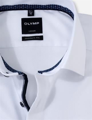 OLYMP business overhemd Modern Fit 126274 in het Wit