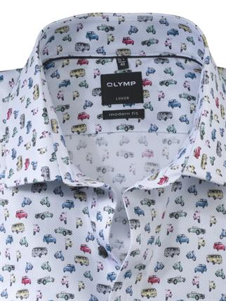 OLYMP business overhemd Modern Fit 127274 in het Blauw