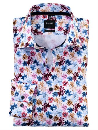 OLYMP business overhemd Modern Fit 128874 in het Roze